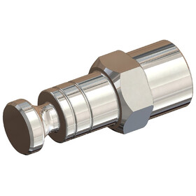 Croozer Click & Crooz Axle Nut Clutch XL FG 10,5 silver